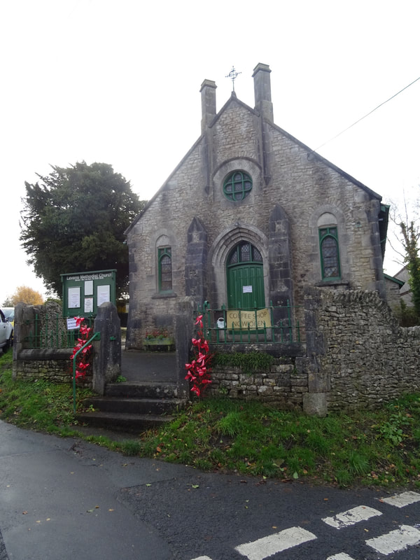 Methodist chapel, cafe for the day
